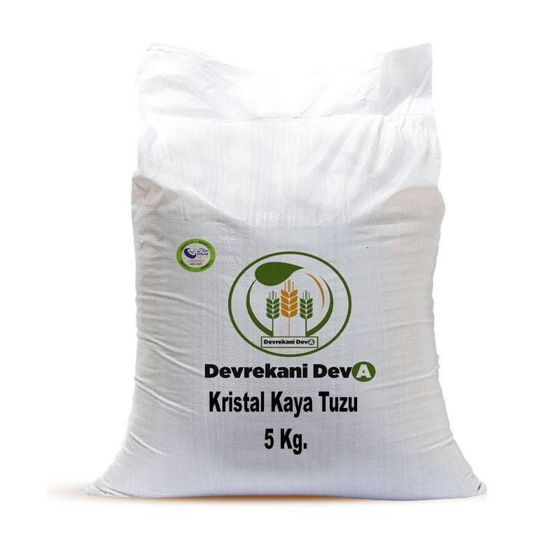 Kristal Kaya Tuzu 5 Kg 29,75 TL Devrekani Deva Gıda