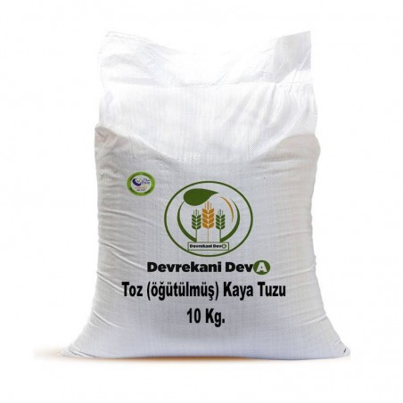 Kaya Tuzu (öğütülmüş) 10 Kg 55,50 TL Devrekani Deva Gıda