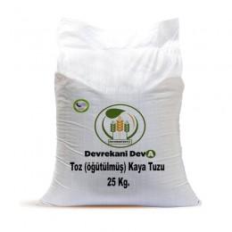 Kaya Tuzu (öğütülmüş) 25 Kg 122,25 TL Devrekani Deva Gıda