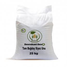 Devrekani Deva Tam Buğday Kepekli Siyez Unu 25 Kg. Kastamonu Depo 213,30 TL