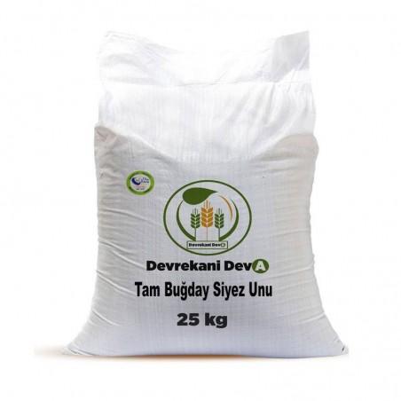 Tam Buğday Kepekli Siyez Unu 25 Kg. Devrekani Deva Gıda - 1
