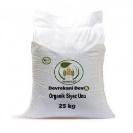 Organik Tam Buğday Siyez Unu 25 Kg. Devrekani Deva Gıda - 1