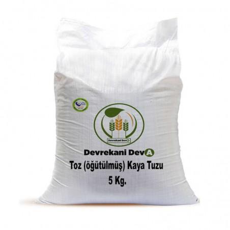 Kaya Tuzu (öğütülmüş) 5 Kg 29,75 TL Devrekani Deva Gıda