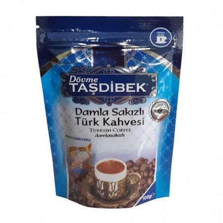 Damla Sakızlı Taşdibek Türk Kahvesi 100g Dibekoglu - 1
